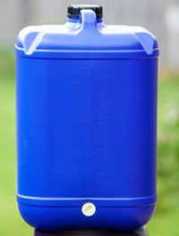 25 Litre Blue Jerry Can
